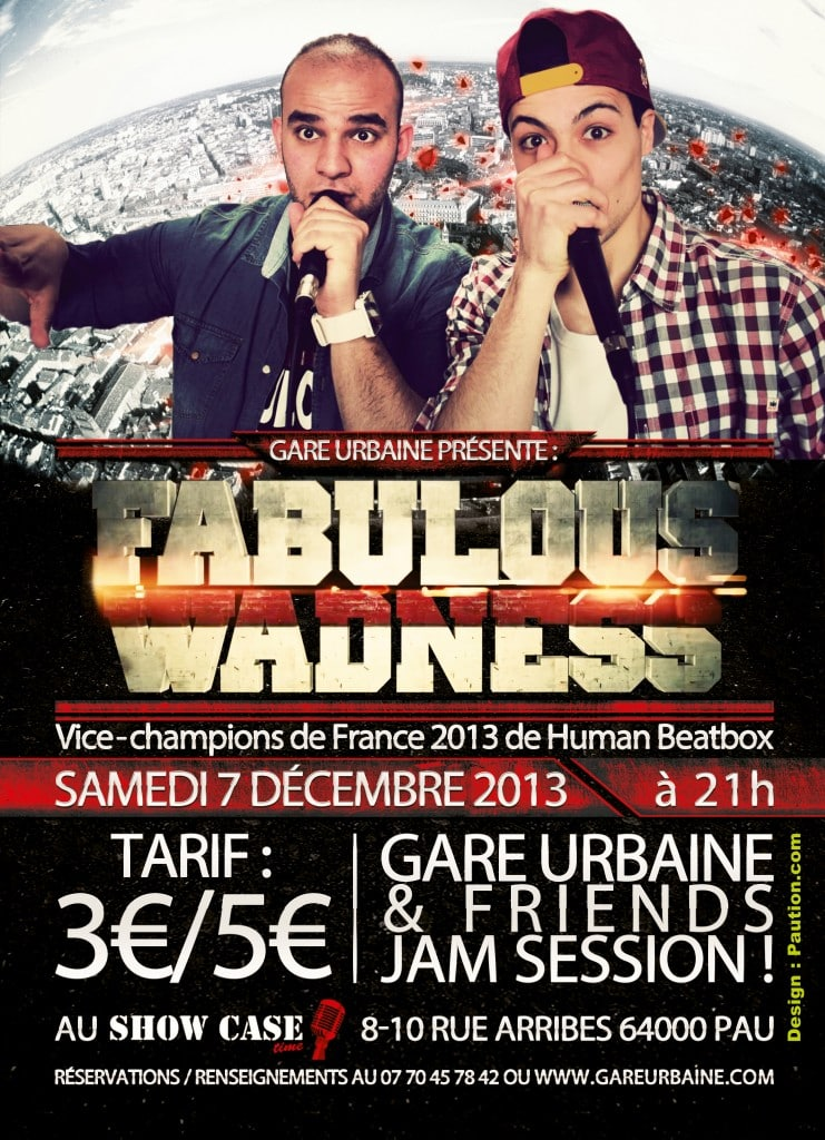 2013-12-07-Affiche-Fabulous-Wadness-v2