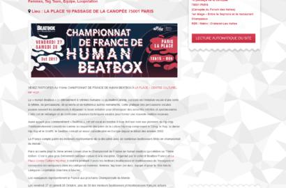 Beatbox France 2017