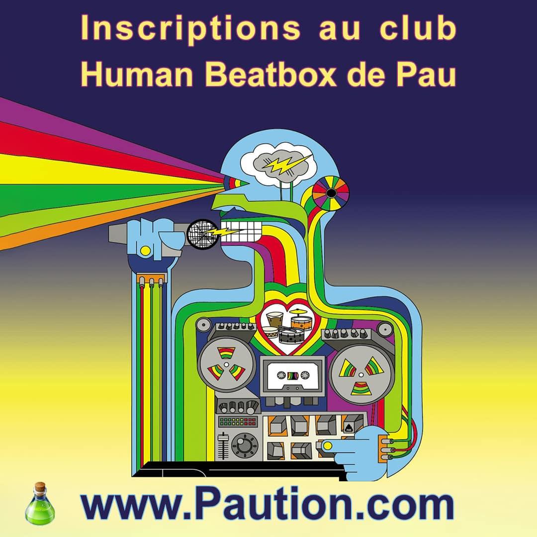Inscriptions cours de human beatbox à Pau
