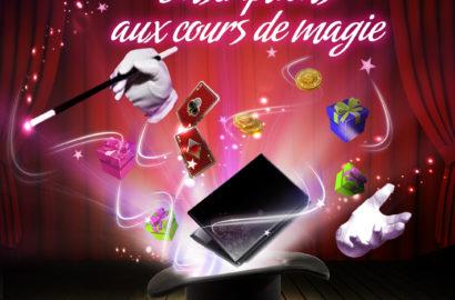 Inscriptions ateliers magie Paution